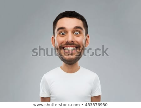 young man with funny face Stock photo © feedough