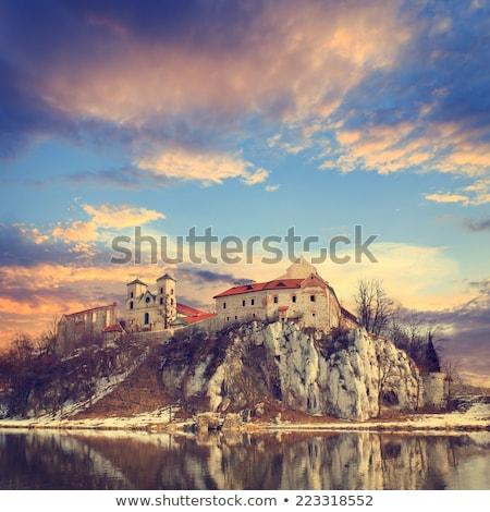 Gotischen Burgen Polen Route Adler Stock foto © linfernum