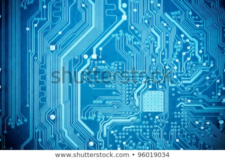 Blauw · circuit · board · computer · circuit · Geel · lopen - stockfoto © wavebreak_media
