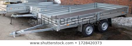 isolated trailer Stock photo © jarp17