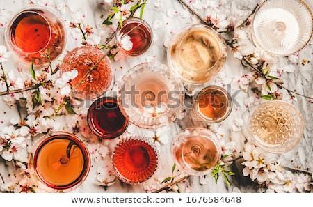 красочный обеда иллюстрация очки рождения Сток-фото © HypnoCreative