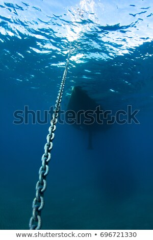 anchor chain underwater in the sea stock photo © ultrapro
