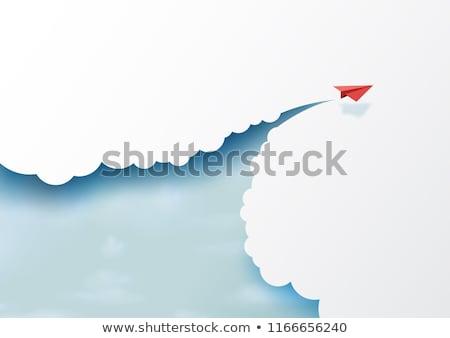 szárnyak · menekülés · pillangó · repülés · szín · átalakulás - stock fotó © lightsource
