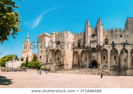 древних · Церкви · Франция · святой · лет · синий - Сток-фото © bertl123