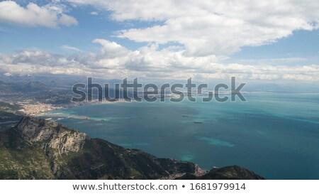 öböl tengerpart természet kék utazás hullám Stock fotó © LianeM