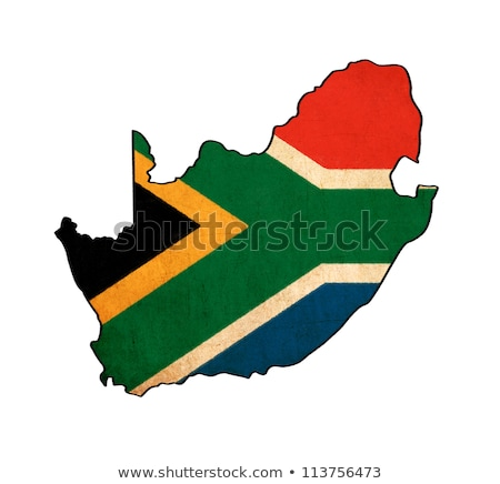 Flag series: South Africa Stock photo © fresh_7266481