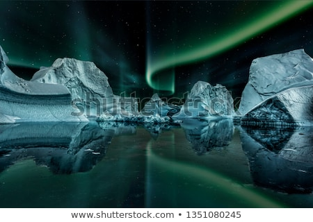 Night in Antarctica Stock photo © Harlekino