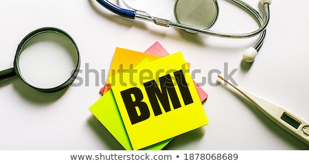 BMI - Magnifying Glass. Stock photo © tashatuvango