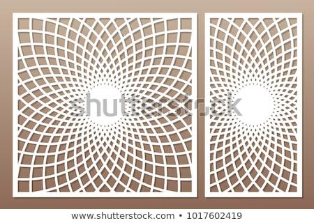 ヴィンテージ 万華鏡 デザイン 花 装飾 渦 ストックフォト © stevanovicigor