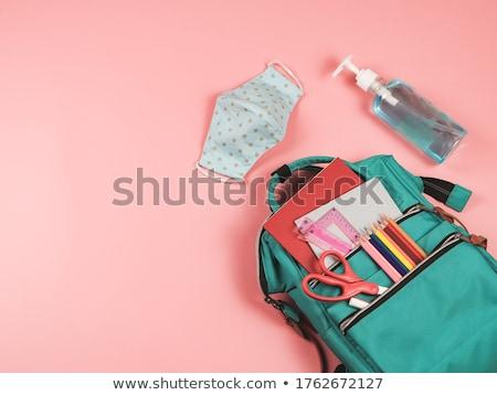 鉛筆 学校 白 学生 教育 教室 ストックフォト © Studio_3321