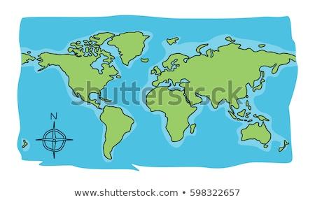 Karikatür dünya Stok fotoğraf © wittaya