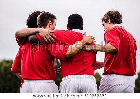 Célébrer gagner ensemble blanche heureux sport Photo stock © wavebreak_media