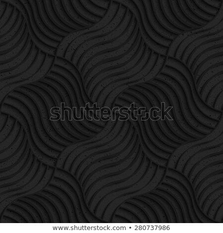 Textured black plastic striped pillows pin will Stock photo © Zebra-Finch