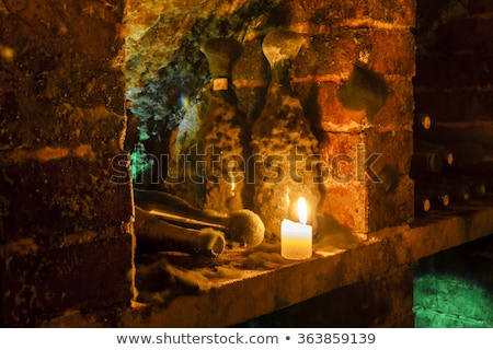 wine archive of wine cellar in velka trna tokaj wine region sl stock photo © phbcz