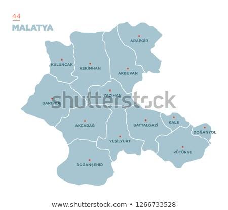 Map of Turkey, Malatya Stock photo © Istanbul2009
