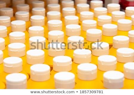 Row of Organic yellow mustard. Stock photo © ziprashantzi