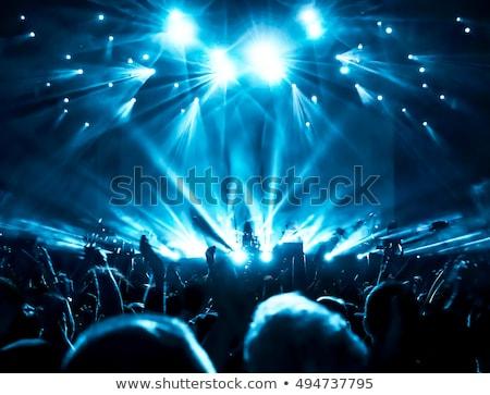 Live on Stage Stock photo © Bigalbaloo