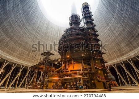 environnement · industrie · changement · climatique · toxique · usines · fumer - photo stock © pedrosala