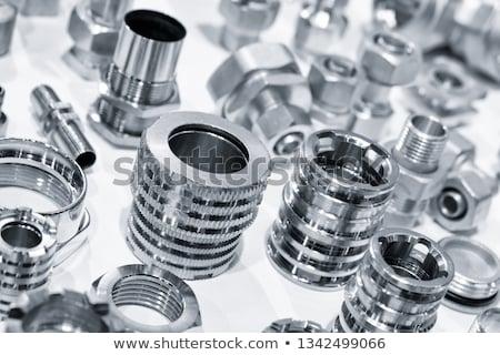 Métal composante industrie industrielle imprimer Photo stock © c12