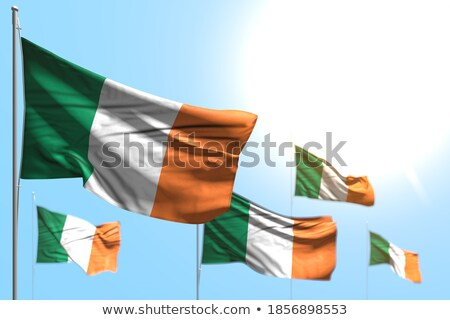 five flags against blue sky Stock photo © njnightsky