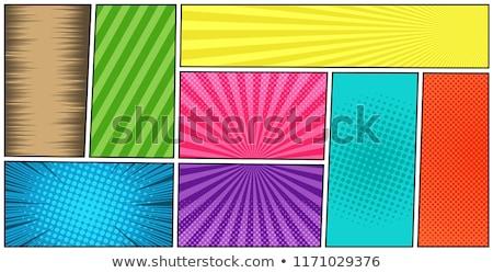 Renk iş dizayn şablonları soyut Stok fotoğraf © sdmix