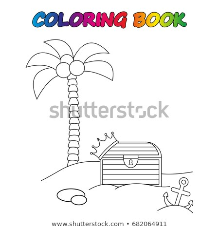 A worksheet with a money tree Stock photo © bluering