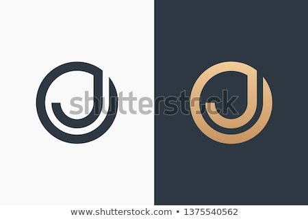 Logo Shapes and Icons of Letter J Stock photo © cidepix