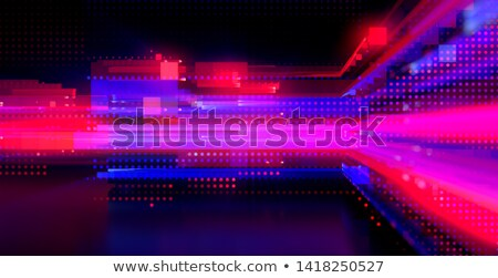 Breaking news with digital glitch effect Stock photo © stevanovicigor