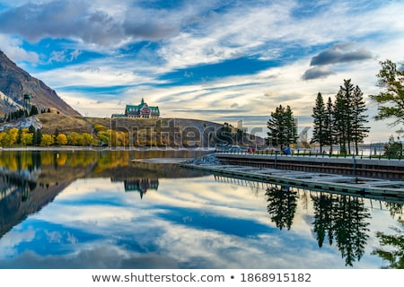 Autumn reflections in scenic Alberta Stock photo © pictureguy