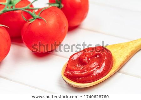 Thick tomato passata Stock photo © Digifoodstock