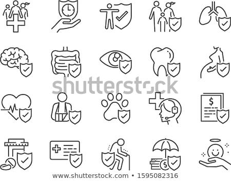 suicidio · ilustración · hombre · figura · disparo · cabeza - foto stock © ahasoft