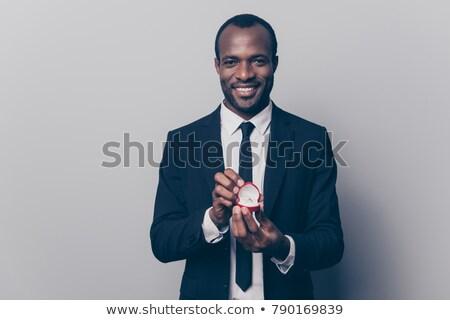 Ritratto uomo offrendo anello di fidanzamento donna Foto d'archivio © wavebreak_media