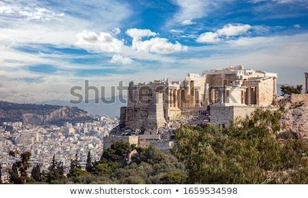 tempel · Acropolis · Athene · Griekenland · kunst - stockfoto © ankarb