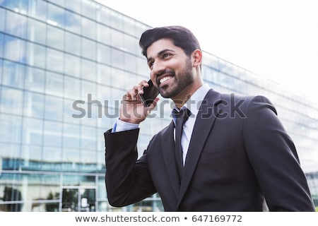 Bearded arabic businessman in office stock photo © studioworkstock
