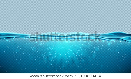 water · vector · zee · landschap · textuur - stockfoto © kostins