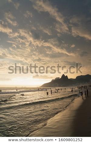 劇的な 日没 海 美しい 風景 すごい ストックフォト © Anna_Om