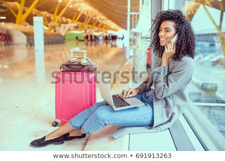 business black women_travel Stock photo © toyotoyo