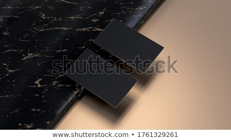 premium marble business card design in minimal style stock photo © sarts