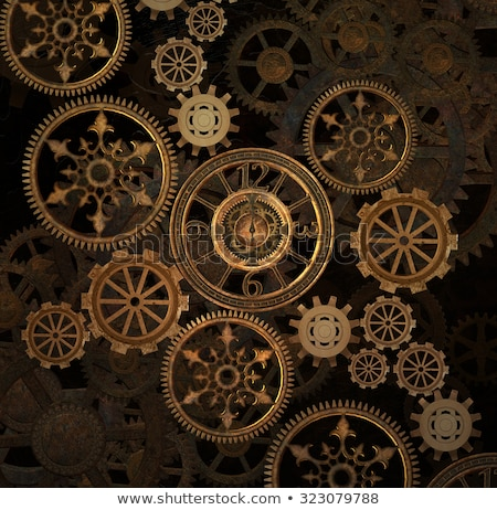 Steam punk Illustration Stock photo © abdulsatarid