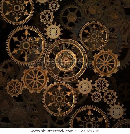 Vintage · иллюстрация · промышленных - Сток-фото © abdulsatarid