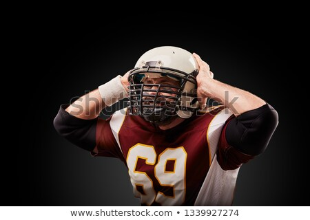 African Man In Pain Holding His Head Stock photo © AndreyPopov