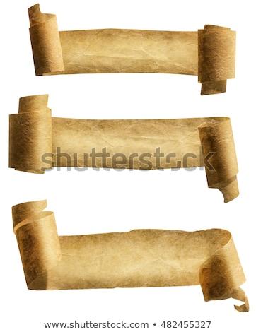 medieval · conjunto · realista · estilo · banners - foto stock © robuart