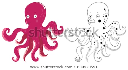 doodles drafting animal for octopus stock photo © colematt