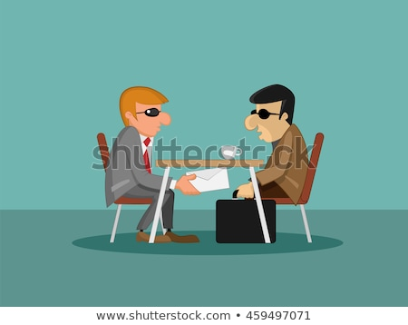 Political corruption concept vector illustration. Stock photo © RAStudio