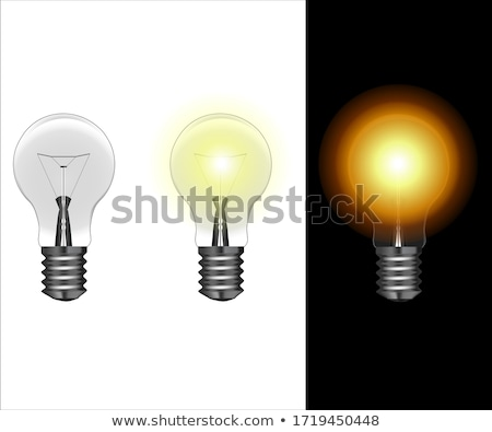 Lantern Illuminating and Glowing Lamps Vector Stock photo © robuart