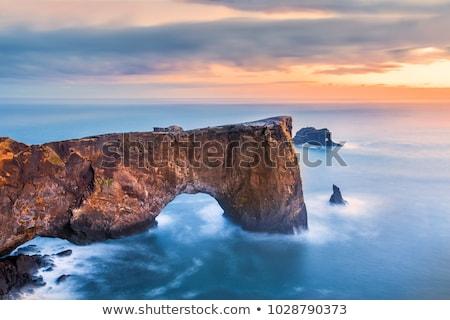 Yarımada İzlanda güzel yaz manzara okyanus Stok fotoğraf © Kotenko