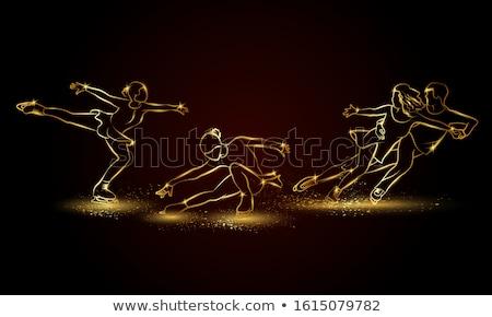 фигурное · катание · женщину · человека · спорт · тело - Сток-фото © netkov1