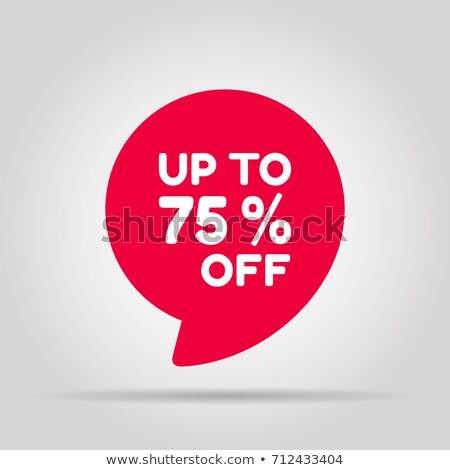 venda · cor · citar · negócio · desconto - foto stock © robuart