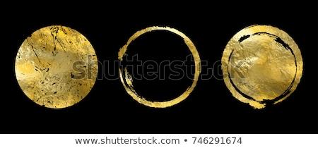 黒 金 プレミアム 装飾的な 結婚式 抽象的な ストックフォト © SArts