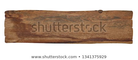 rough wood signs stock photo © jsnover